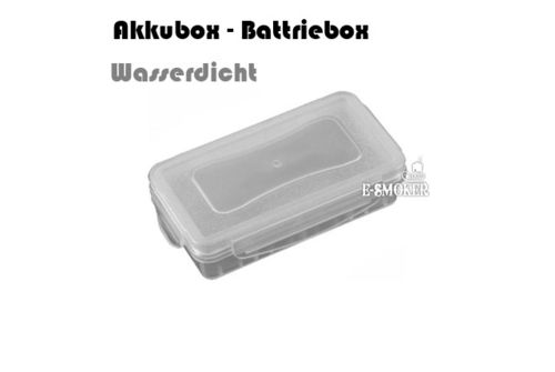 Akkubox - Batteriebox - Wasserdicht