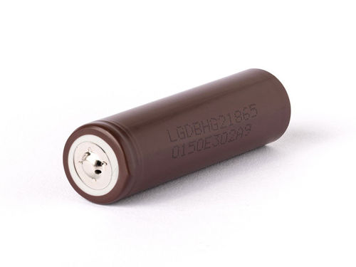 LG INR HG2-18650 - HIGH Drain Akku - 3,7 V - 3000mAh - 20A - Button Top