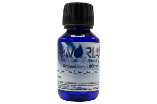 DripperBase 100 ml - 0 mg Nic