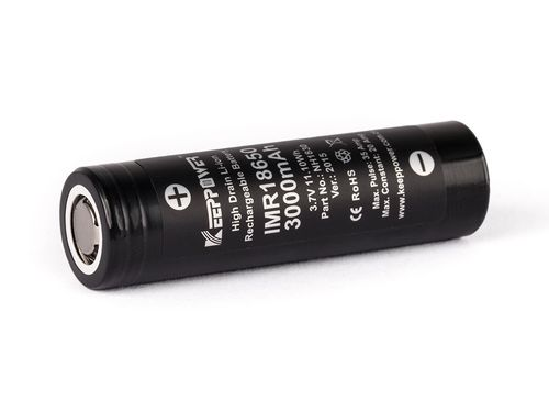 Keeppower IMR 18650 - 3000mAh - High Drain, max. 35A - Li-ion Akkus